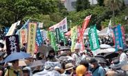 Hơn 40.000 người Nhật phản đối căn cứ quân sự Mỹ