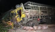 Tài xế xe tải tử nạn sau cú tông đuôi xe khách