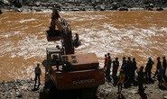 Vụ Sông Bung 2: Tìm thấy thi thể một công nhân bị lũ cuốn