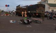 xe tải tông trực diện, cô giáo mầm non tử nạn
