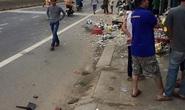 Đứng trên lề đường bị ô tô điên tông chết