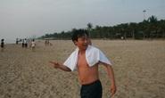 Đến lượt bí thư Đà Nẵng cùng lãnh đạo Quảng Nam tắm biển