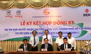 Ký hợp đồng gần 10.000 tỉ chống ngập cho TP HCM