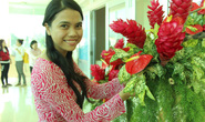 Ngắm hoa khéo tay của Yến sào Khánh Hòa