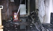 Cháy nhà mặt tiền, 2 người kịp thoát thân