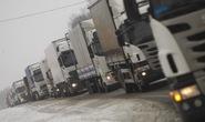 Moscow trả đũa hành vi chặn xe tải Nga ở Ukraine
