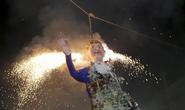 Người Mexico đốt hình nộm Donald Trump khi mừng lễ Phục sinh