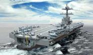 Siêu tàu sân bay Mỹ sắp trình làng