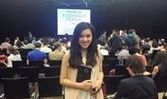 Gặp nữ thủ lĩnh 9X tài sắc từng dự Diễn đàn kinh tế thế giới