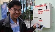 Sinh viên Đà Nẵng chế tạo máy phát bao cao su miễn phí