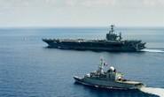 Tàu chiến Pháp cùng Mỹ tuần tra biển Đông