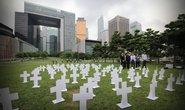Hồng Kông: Đón chủ tịch quốc hội Trung Quốc bằng mộ giấy