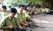 Kiểm lâm Yên Bái được trang bị 105 khẩu súng K59 và AK