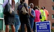 Nhiều trục trặc trong ngày bầu cử Mỹ
