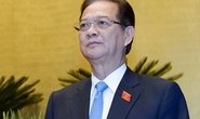84,62% đại biểu QH đồng ý miễn nhiệm Thủ tướng Nguyễn Tấn Dũng