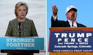 """Ông Trump, bà Clinton """"hại"""" kinh tế Mỹ"""