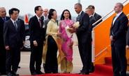 """""""Sự cố"""" thảm đỏ đón Tổng thống Obama"""