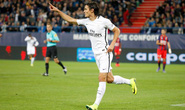 "Cavani trút giận, PSG ""làm gỏi"" Caen"