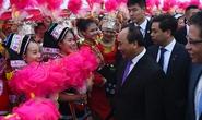 Thủ tướng Nguyễn Xuân Phúc bắt đầu thăm Trung Quốc