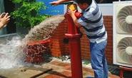 Làm rõ vụ trụ nước chữa cháy bị tố hỏng