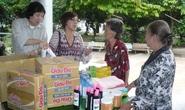 Lệ Thủy, Minh Vương tất bật từ thiện đầu năm