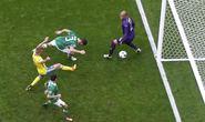 Hai khoảnh khắc ghi bàn trận Thụy Điển hòa CH Ireland 1-1