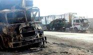 Nga khẳng định đoàn xe cứu trợ Syria bắt lửa bí ẩn