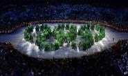 Rợp sắc xanh ở lễ khai mạc Olympic Rio