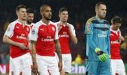 Barcelona thắng áp đảo, Arsenal chia tay Champions League