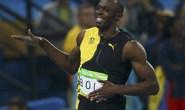 """""""Tia chớp"""" Bolt bùng nổ, giành HCV 100 m"""
