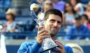 Clip: Thắng đẹp Nishikori, Djokovic lần thứ 4 giành Rogers Cup