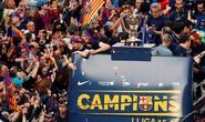 Barcelona tưng bừng rước cúp vô địch La Liga
