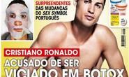 """Ham """"tút"""" ngoại hình, Ronaldo dứt điểm tệ"""