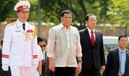 Mỹ khẳng định liên minh bọc thép với Philippines