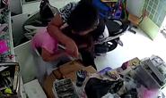 Clip: Gí dao vào cổ cướp iPhone 6s