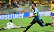 Suarez tỏa sáng, Uruguay suýt thắng Brazil