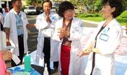 Phát động rửa tay - kiểm soát nhiễm khuẩn