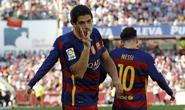 Suarez lập hat-trick, Barcelona giữ được cúp