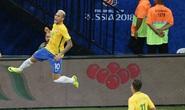 Neymar giúp Brazil chiếm ngôi nhì của Argentina