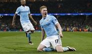 De Bruyne lóe sáng, Man City lần đầu vào bán kết Champions League