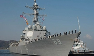 Tàu khu trục Mỹ tới Cảng Quốc tế Cam Ranh