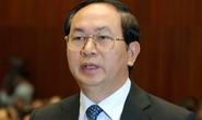 QH bỏ phiếu kín bầu ông Trần Đại Quang làm Chủ tịch nước