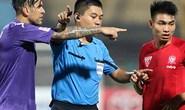 Vòng 9 V-League: Nhiều tiếng còi tệ hại