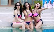Thí sinh Hoa hậu Bản sắc Việt đọ sức nóng bikini