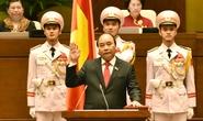 Tân Thủ tướng Nguyễn Xuân Phúc tuyên thệ nhậm chức