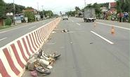Xe 7 chỗ tông xe đạp điện, 2 vợ chồng tử vong