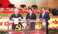 Các ông Nguyễn Phú Trọng, Trần Đại Quang, Nguyễn Xuân Phúc trúng cử