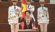 Bà Nguyễn Thị Kim Ngân tuyên thệ nhậm chức Chủ tịch QH