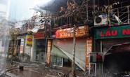 Cháy lớn sáng mùng 4 Tết, 6 kiosk bị thiêu rụi