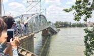 Khẩn trương sửa chữa cầu Ghềnh sớm thông tuyến đường sắt Bắc-Nam